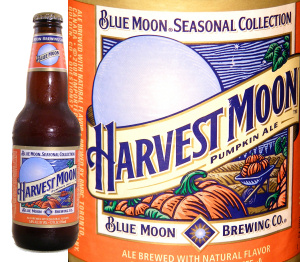 Blue Moon Harvest Moon