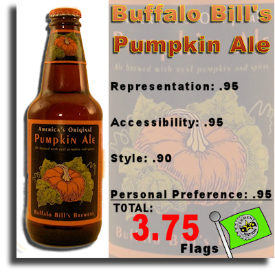 Buffalo Bills Pumpkin Ale