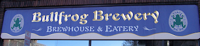 Bullfrog Brewery in Williamsport PA