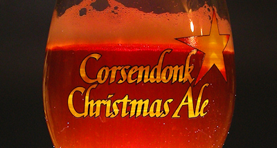 Corsendonk Christmas Ale Glowing