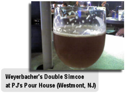 Weyerbacher Double Simcoe at The Pour House