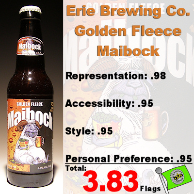 Erie Brewing Company Golden Fleece Maibock