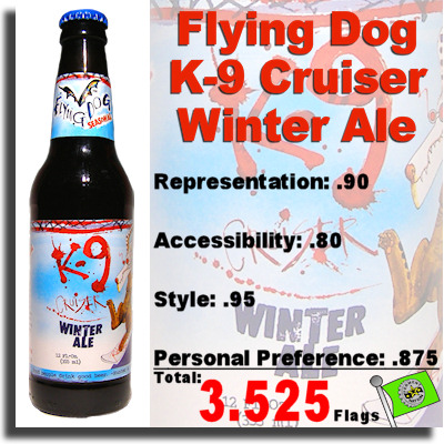 Flying Dog K9 Cruiser Winter Ale
