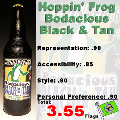Hoppin Frog Bodacious Black and Tan