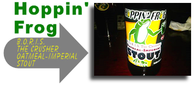 Hopppin Frog BORIS The Crusher Oatmeal Imperial Stout