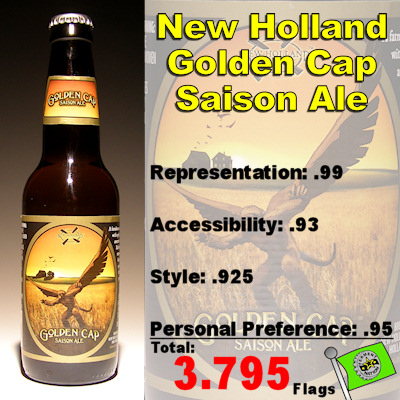 New Holland Golden Cap Saison Ale