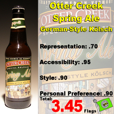 Otter Creek Spring Ale German Style Kolsch