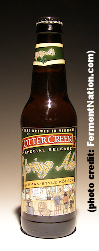 Otter Creek Spring Ale Bottle