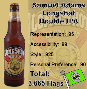 Samuel Adams Longshot Double IPA
