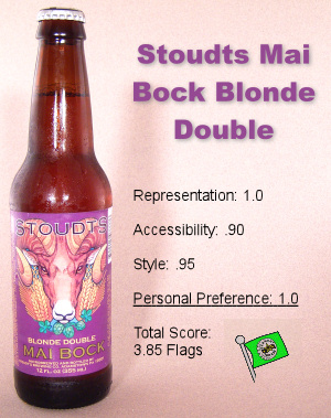 Stoudts Mai Bock Blonde Double