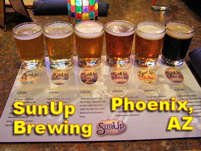 Sun Up Brewing Phoenix AZ