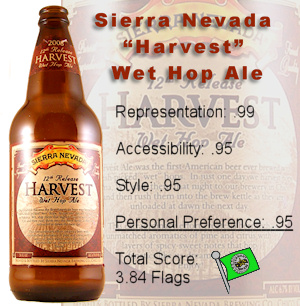 Sierra Nevada 'Harvest' Wet Hop Ale