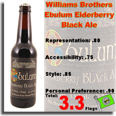 Williams Brothers Ebulum Elderberry Black Ale