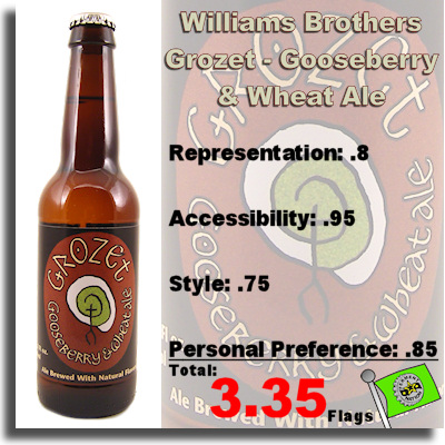 Willliams Brothers Grozet Gooseberry and Wheat Ale