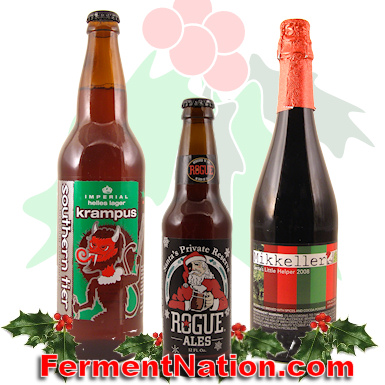 Christmas Beer Reviews